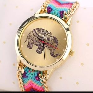 Accessories - 🐘Super cute elephant bracelet watch🐘
